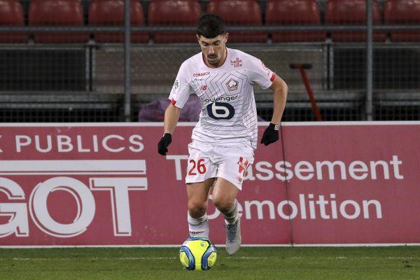 Jérémy Pied contre Dijon en janvier dernier.