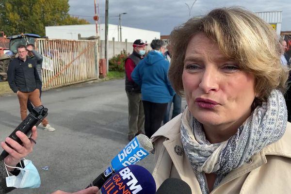 Marie-Sophie Lesne, vice-présidente en charge de l'agriculture en région Hauts-de-France