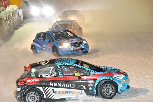 Des voitures 100% électriques concourront pour le Trophée Andros sur le circuit Clermont / Super Besse le 1er février.