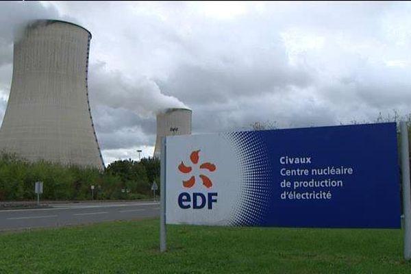 La centrale nucléaire de Civaux dans la Vienne.