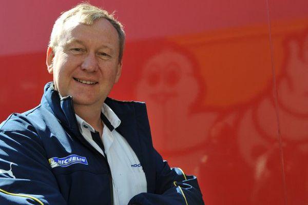 Pascal Couasnon, le directeur de la compétition chez Michelin