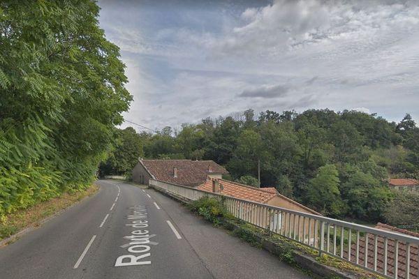 C'est sur cette route en dehors du centre de Castanet-Tolosan que l'accident s'est produit.