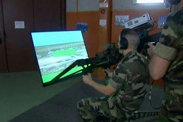 Manœuvres militaires virtuelles à Draguignan
