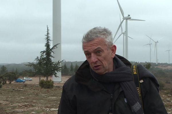 Marc-Antoine Chavanis, représentant local de l'association Sites et Monuments, opposée au projet.