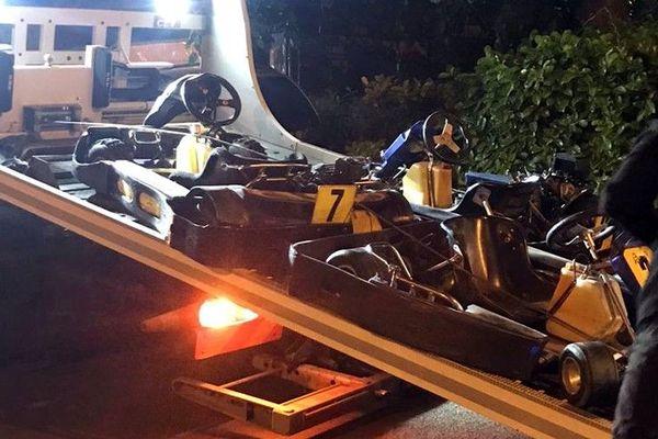 Huit karts ont été saisis ce mardi 2 juin après un rodéo urbain dans les rues de Villeneuve d'Ascq.