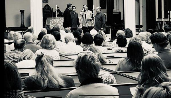 Concert à la St Paul's Episcopal Church, à Washington, le 5 juillet dernier
