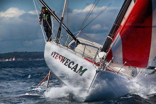 Jean Le Cam a réuni l'argent nécessaire pour prendre le départ du Vendée Globe 2016