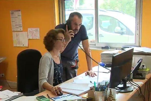 Fabrice Bugeaud, à la tête d'une société de 8 salariés en Dordogne, dénonce une charge de travail supplémentaire que les entreprises devront faire à la place de l'Etat.