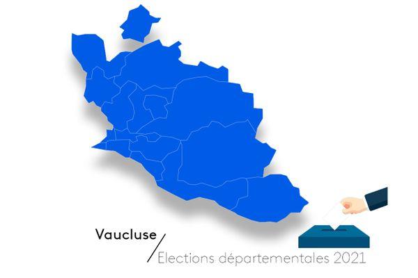 Election départementales 2021 dans le Vaucluse, qui pour succéder à Maurice CHABERT (LR), le président sortant.