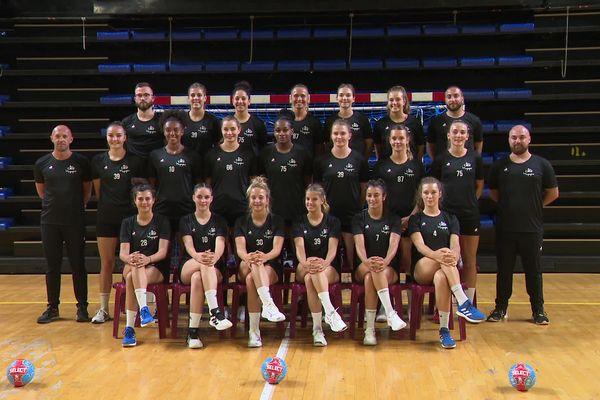 Équipe d'entraîneurs entièrement masculine pour cette nouvelle saison, à l'ESBF Handball