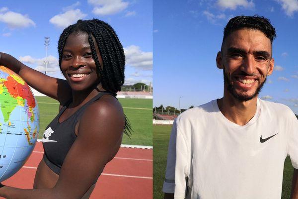 Les deux athlètes toulousains vont participer à leurs premiers championnats du monde.