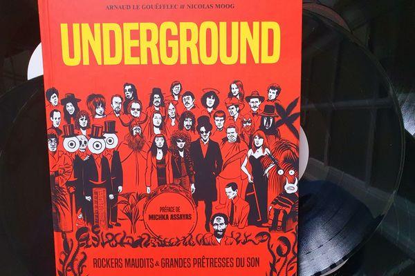 Underground est édité par Glénat.