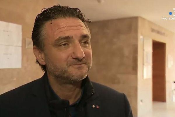 Fabrice Rizzoli, enseignant, spécialiste de la grande criminalité, co-fondateur de l'association Crim'HALT, cité par la défense au procès de Claude Chossat en novembre 2019.