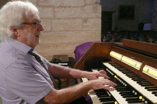 Daniel Dazin participera à l'inauguration du nouvel orgue, don de l'un des membres de la paroisse de Florensac.