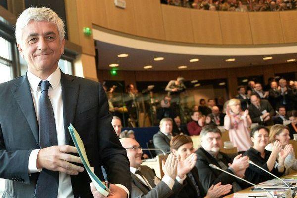 Hervé Morin élu président de la région Normandie - 4 janvier 2016