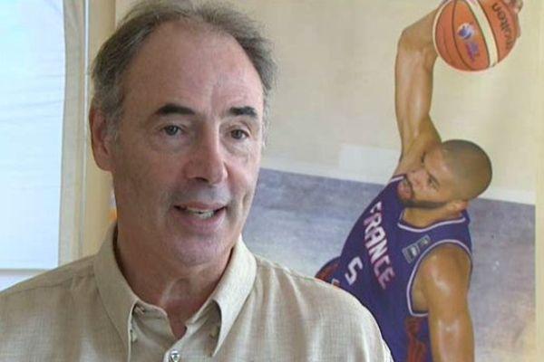 Montpellier - Hervé Dubuisson, l'ancien basketteur est de retour - 8 septembre 2015.
