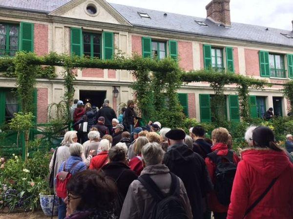 60 000 visiteurs ont déjà visité la maison et les jardins de Claude Monet à Giverny depuis la réouverture du site le 24 mars dernier.