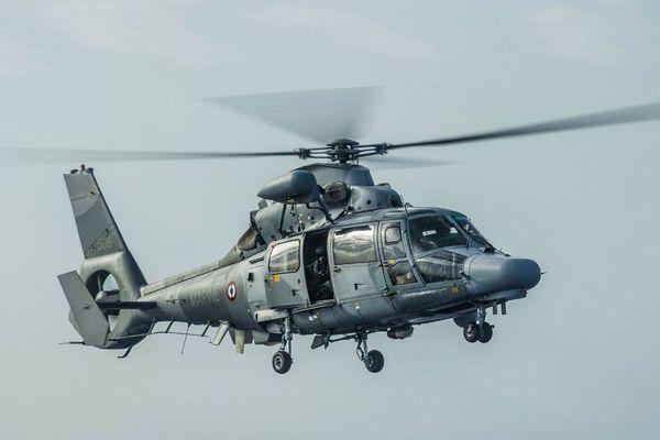 L'hélicoptère de secours en mer de la Marine nationale et de la Préfecture maritime de la Méditerranée - illustration