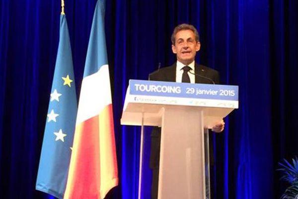 Nicolas Sarkozy à Tourcoing.