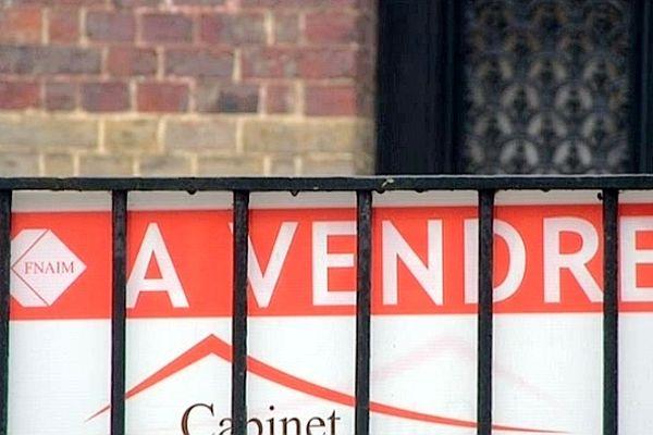 Les transactions immobilières chutent en Haute-Normandie.