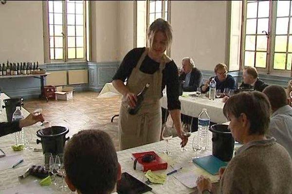 Belley (Ain) - Dégustation verticale de vins du Bugey  - A consommer avec modération
