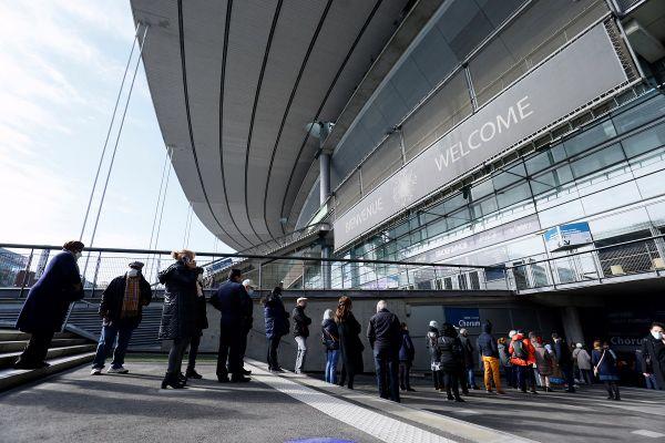 Le vaccinodrome du Stade de France a ouvert ce matin.