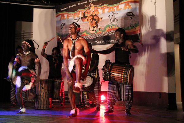 Le ballet d'AfricaTala, pour faire vivre à Montpellier musiques et danses traditionnelles africaines.
