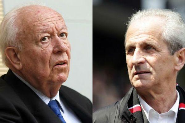 Jean-Claude Gaudin et Hubert Falco font partie des quelques sénateurs UMP qui auraient bénéficié de fonds du Sénat.