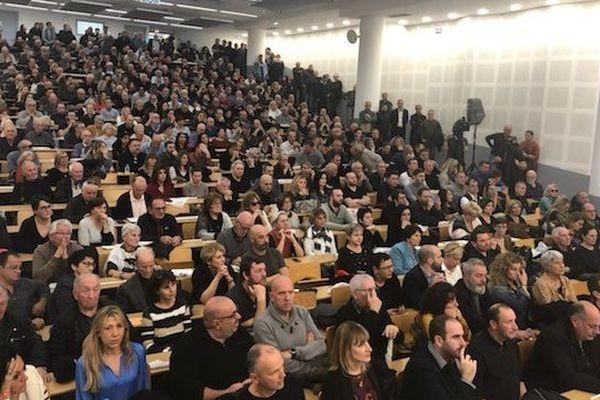 Des centaines de militants se sont rassemblées à Corte à l'occasion de la première assemblée générale ordinaire de Femu a Corsica.