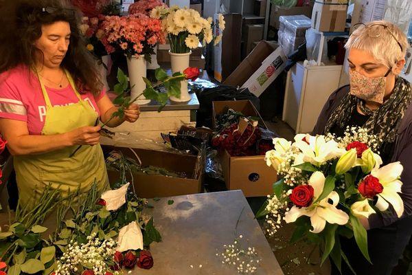 A Verdun, Aurore Oliveira espère que ses clients seront au rendez-vous le jour de la fête des mères le 7 juin prochain