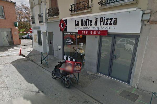 Le braqueur s'en est pris à cette pizzéria