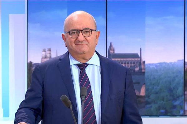 Benoît Digeon invité de Rébecca Benbourek dans le 19/20 de France 3 Centre Val de Loire