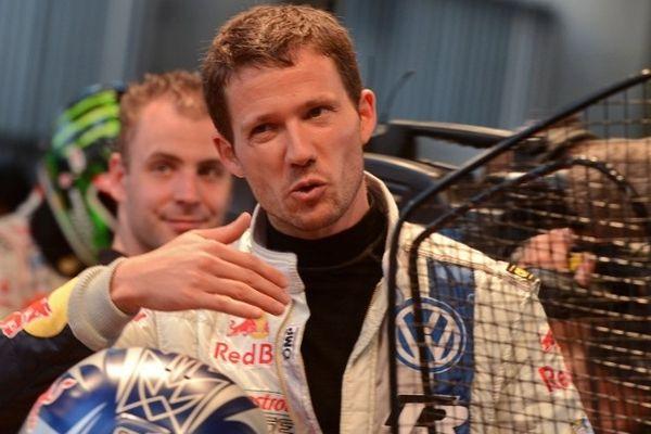 Sébastien Ogier, pilote Volkswagen, débute bien la compétition.