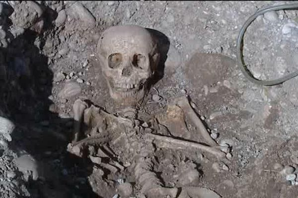 Valence - Chantier de fouilles archéologiques - fév.2015