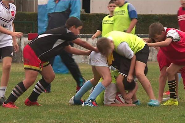 L'école de rugby du CA Périgueux compte près de 170 licenciés pour la saison 2019/2020