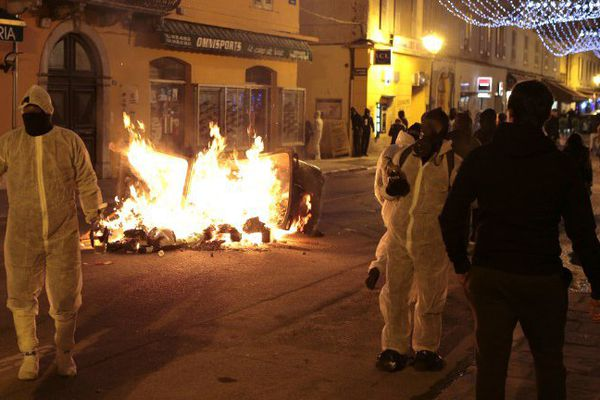 15/12/16  -Violents incidents à Corte (Haute-Corse) après un rassemblement de soutien à des supporters du SC Bastia