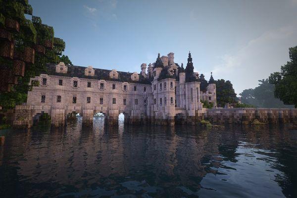 Le château de Chenonceau a été recréé de façon très précise par le joueur RobinFromTheHood