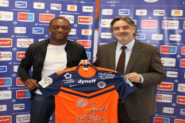 Montpellier - Jérôme Roussillon signe au MHSC pour 4 ans - 20 janvier 2015.
