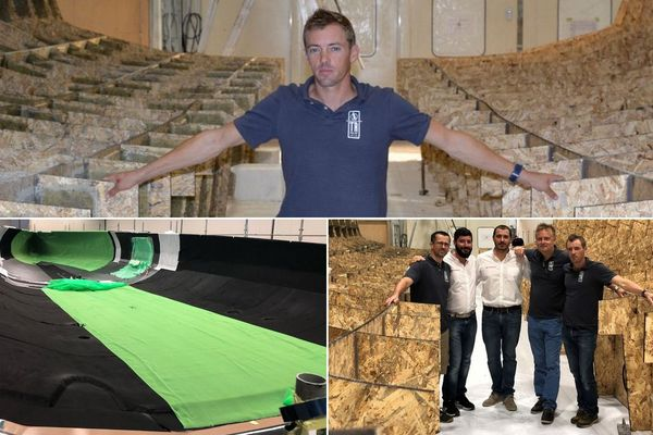 Thomas Ruyant fait construire un Imoca de 60 pieds en Italie, en vue du prochain Vendée Globe en 2020.
