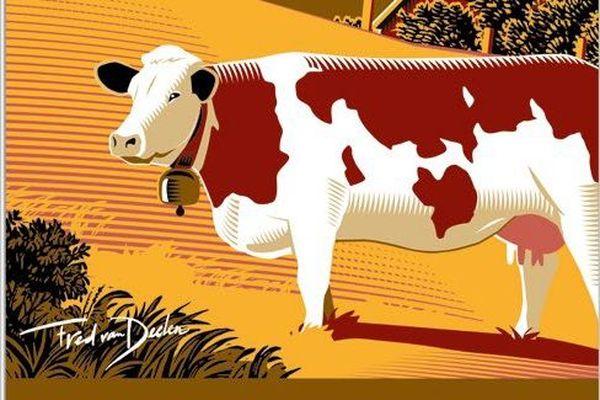 La vache montbéliarde est la première laitière dans les appellations d'origine protégées.