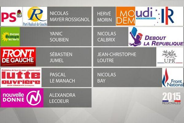 Neuf listes ont été déposées en préfecture pour les prochaines élections régionales en Normandie