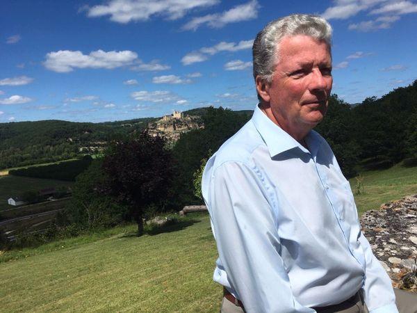 """Philippe Piston d'Eaubonne, président de l'association """"Sauvons la Vallée Dordogne"""""""