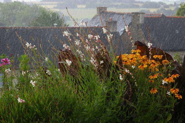 Bretagne sous la pluie