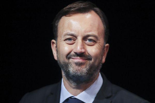 François Decoster au Congrès des maires en novembre 2017.