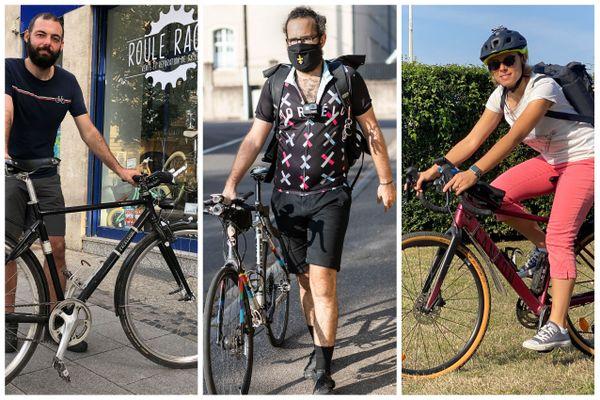 Christophe, Marc et Frédérique, trois vélotafeurs racontent leur quotidien de cyclistes dans Metz