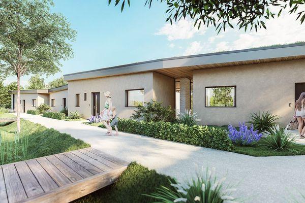 Viliaprint : 5 maisons imprimés en 3 D, des logements expérimentaux, dans le premier éco-quartier, Réma-Vert, à Reims