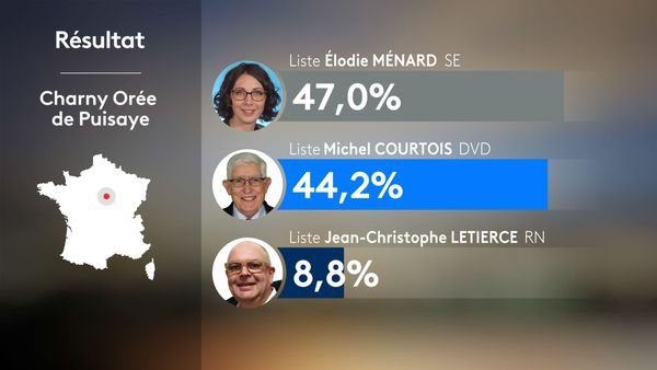 Municipales 2020 2nd tour - Charny Orée de Puisaye : résultats