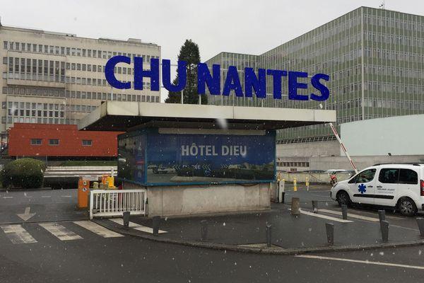 Le CHU de Nantes, février 2018
