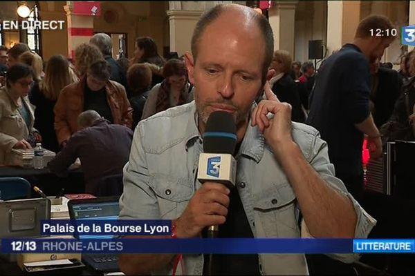 Bernard Minier, invité du 12/13 Rhône-Alpes - 1/4/17