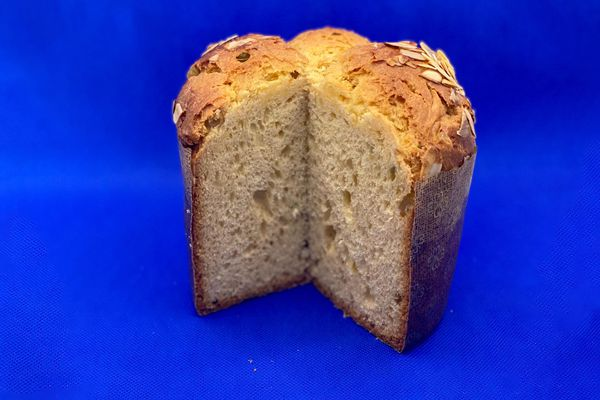 Le gâteau de Compiègne servi dans boulangerie-pâtisserie la Pétrifontaine